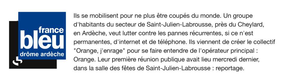 Radio France Bleu 30 12 2019