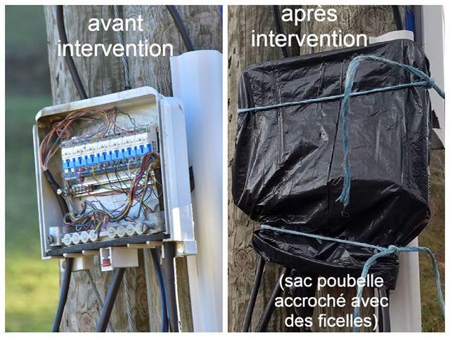 Beauvène 07190 – réparations avant/après