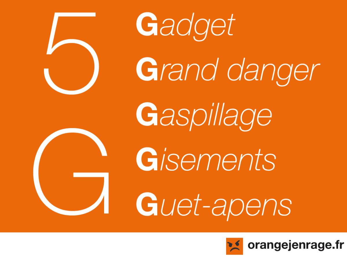 Stop à la Gabegie de la 5G !