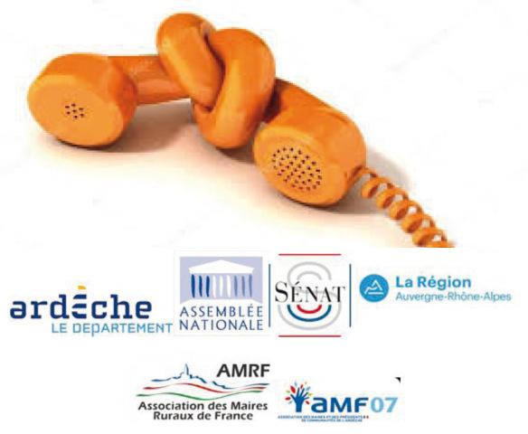 269 élus locaux, députés, sénateurs, maires, conseiller départementaux et régionaux de l'Ardèche signent une tribune : L'état dramatique du réseau de la téléphonie fixe