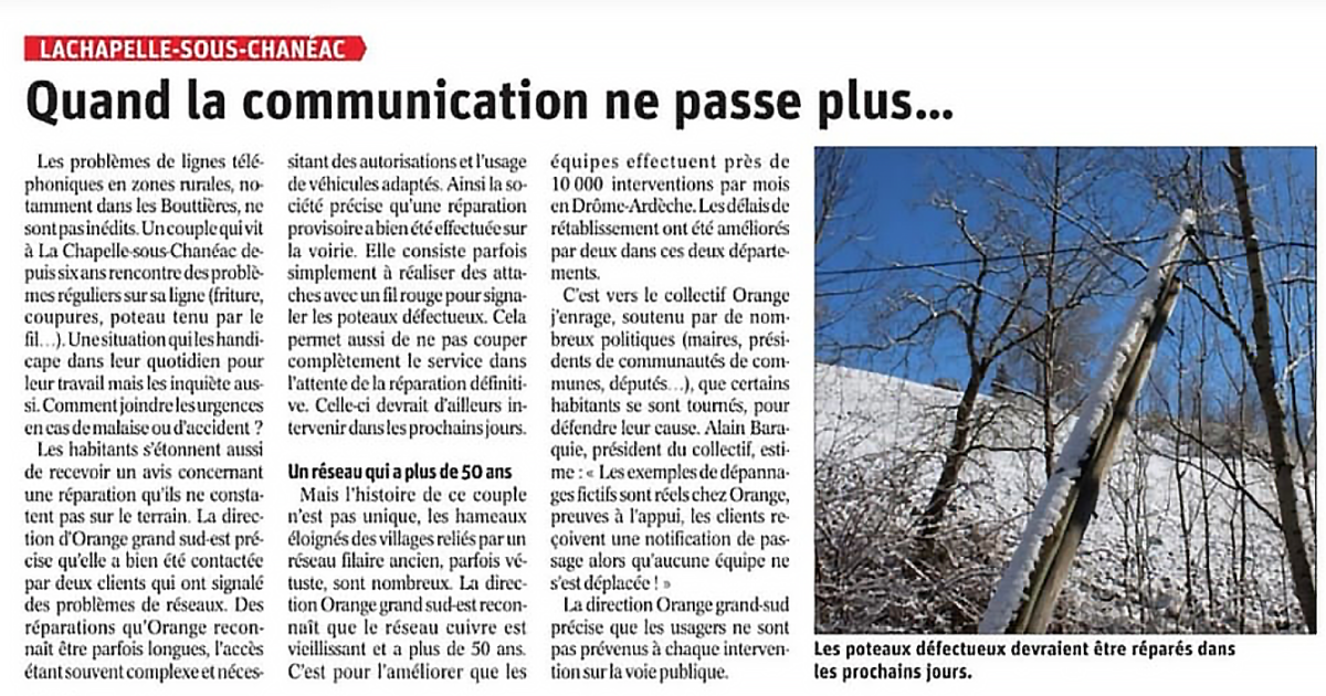Quand la communication ne passe plus…