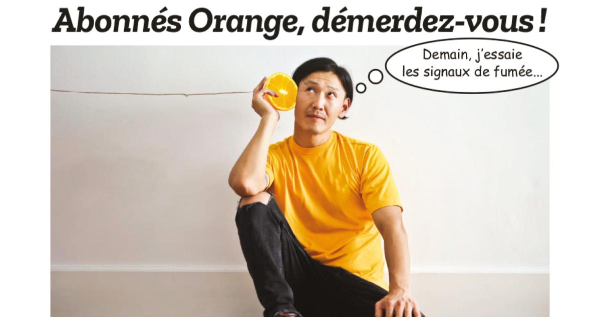 Orange : friture sur la ligne
