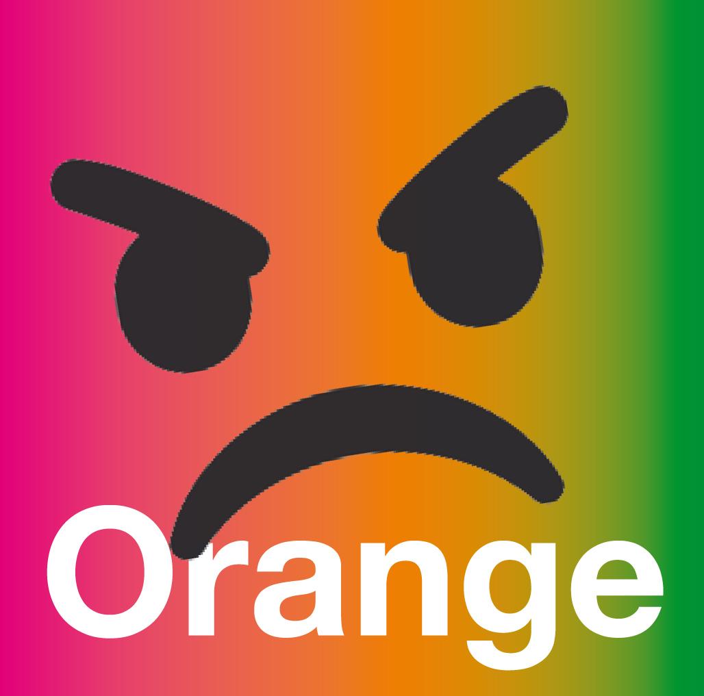 Orange : le chaud et le froid
