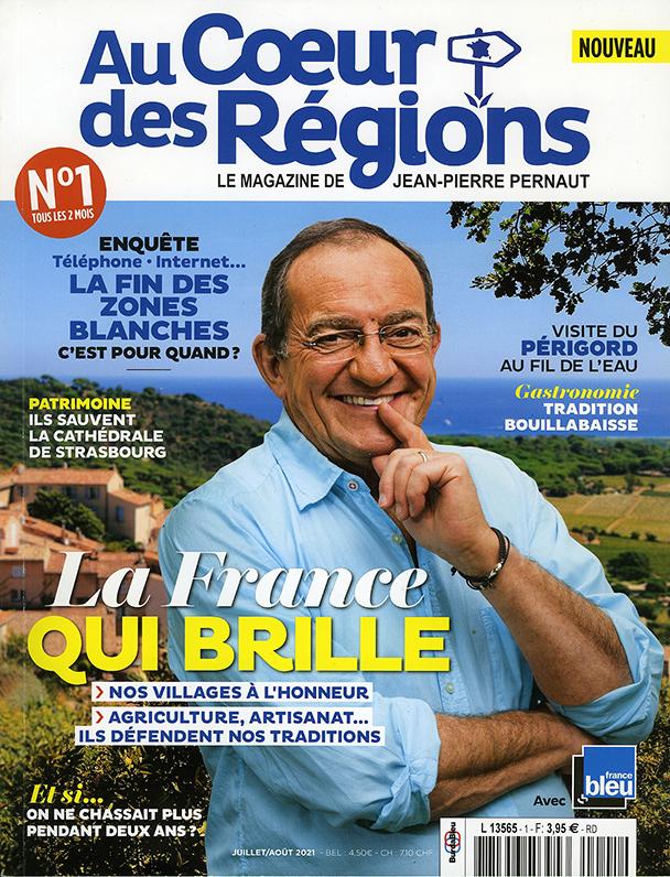 Le nouveau magazine de Jean Pierre Pernaut consacre une pleine page à Orange j'enrage !